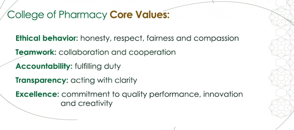 COP Core Values