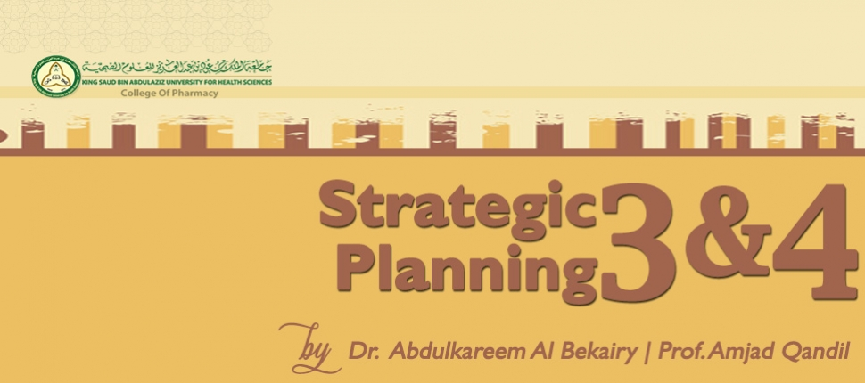 Strategic Planning 3 and 4 -FD&EP -050618