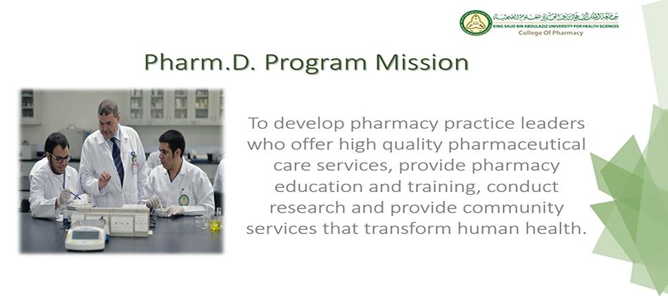 Pharm.D. Program Mission