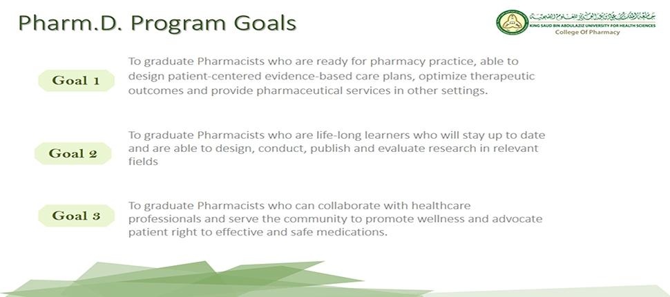 Pharm.D. Program Goals
