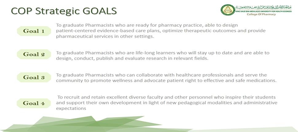 COP Strategic Goals