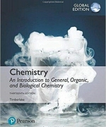 Chemistry: An Introduction to General, Organic, and Biological Chemistry, 140419